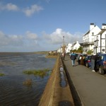 Spring Tide at Parkgate Cheshire