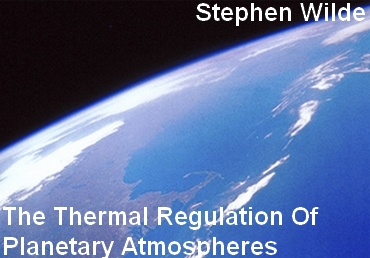 The Thermal Regulation of Planetery Atmospheres-1